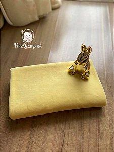 Plush cor Amarelo Bebê 50x80