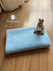 Plush cor Azul Bebê 50x80