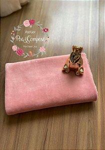 Plush cor Rosa Magnolia 50x80