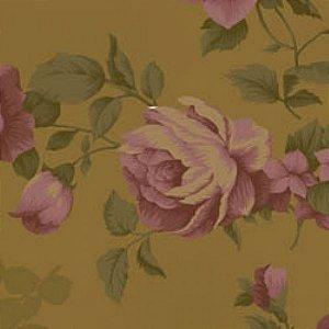 Tecido Floral Grande La Vie en Rose Bege (MV001C02)