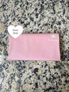 Tecido Liso Rosê (Cor 2035)