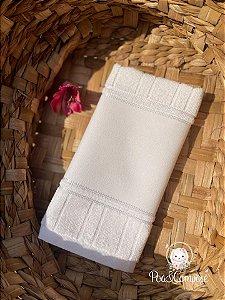 Toalha de Banho Dohler Branca (Faixa Pinte e Borde)