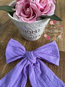Meia de Seda lilás