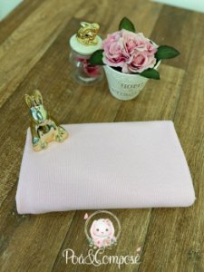 Malha Tricot cor Rosa (50x80)