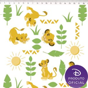 Tecido Rei Leão Simba LK003C01