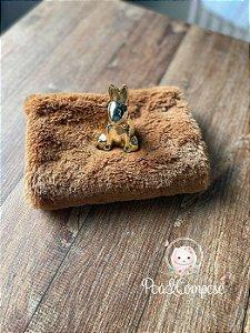 Pelúcia Baby Soft cor Caramelo 50x75