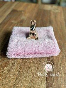 Pelúcia Baby Soft cor Rosa Claro  50x75