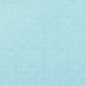 Fralda Quadriculada Mabber cor Azul (5 metros)