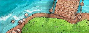 Mapa de RPG - Rio com Pedras