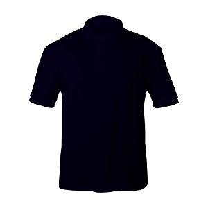 Kit 10 peças - Camiseta Polo Piquet Marinho Masculina