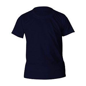 Kit 10 peças - Camiseta Algodão Marinho Infantil