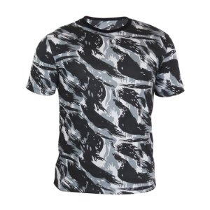 Kit 10 peças - Camiseta PV (malha fria) Camuflada Cinza Masculina