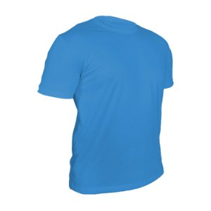 Kit 10 peças - Camiseta Poliéster Anti Pilling Celeste Masculina