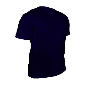 Kit 10 peças - Camiseta Poliéster Anti Pilling Marinho Masculina