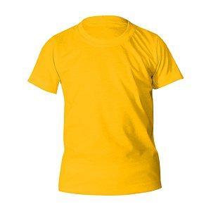 Kit 10 peças - Camiseta Poliéster Anti Pilling Ouro Infantil