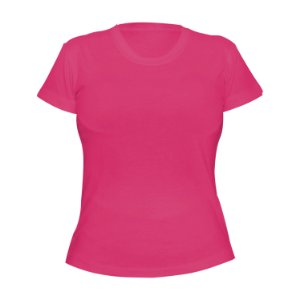 Kit 10 peças - Camiseta Poliéster Anti Pilling Rosa Pink Feminina