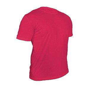 Kit 10 peças - Camiseta Poliéster Anti Pilling Rosa Pink Masculina