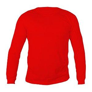 Camiseta Manga Longa PV (Malha Fria) Vermelha Masculina