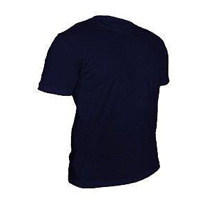 Camiseta Algodão Marinho Masculina