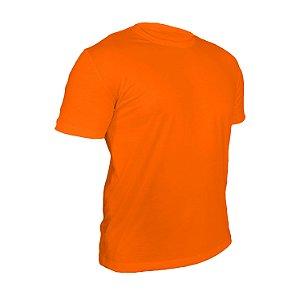 Camiseta Poliéster Anti Pilling Laranja Masculina