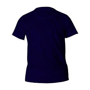 Camiseta Poliéster Anti Pilling Marinho Infantil