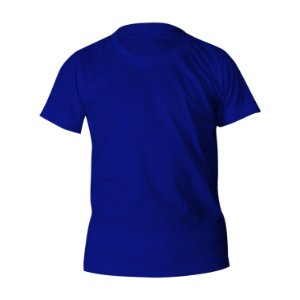 Camiseta Poliéster Anti Pilling Royal Infantil
