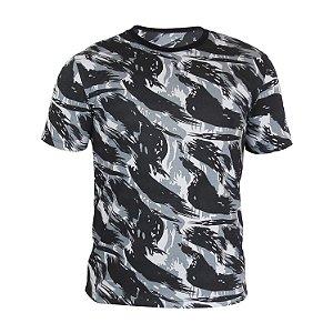 Camiseta PV (malha fria) Camuflada Cinza Masculina