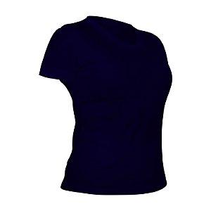Camiseta PV (Malha Fria) Marinho Feminina