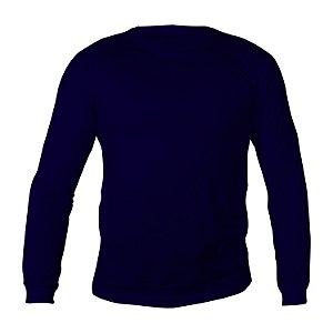 Camiseta Manga Longa PV (Malha Fria) Marinho Masculina