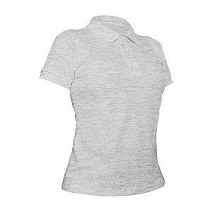 Camiseta Polo Piquet Mescla Feminina