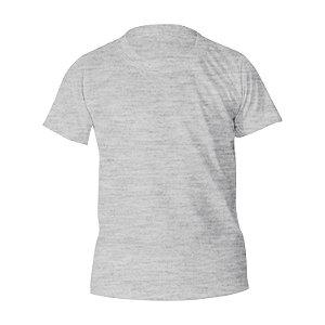 Camiseta Algodão Mescla Infantil