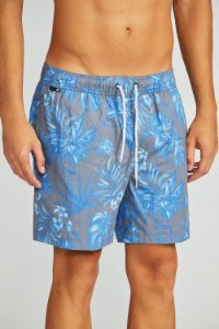 SHORTS ESTAMPADO NIGTH FLOWERS