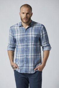 CAMISA M/L CASUAL DOUBLE FABRIC