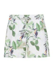 Shorts Vintage Leaves