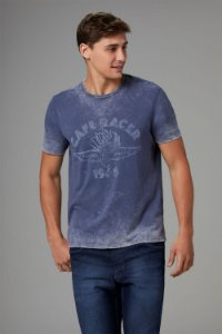 CAMISETA COTTON MOTO STEADY [BLACK FRIDAY]