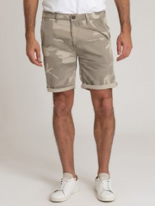 BERMUDA CHINO TINTURADA CAMUFLADA [BLACK FRIDAY]