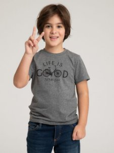 CAMISETA INFANTIL LIFE IS GOOD