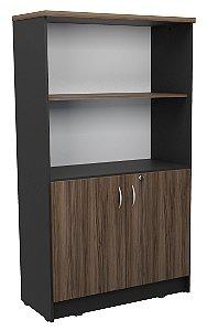 Armario alto estante para escritório em MDP 15mm com prateleiras removíveis