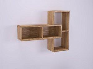 Nicho versátil modular fabricado em MDF 15 e 30mm com possibilidade de uso em diversos espaços da casa