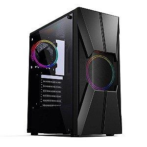 COMPUTADOR GAMER PRATA, I3 9100F, GTX 1050TI 4GB, 8GB, SSD 240GB