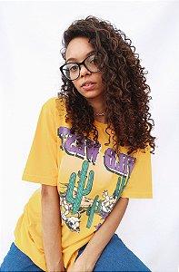 T-shirt Amarela - Wild West