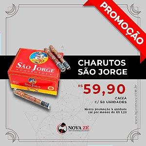 Caixa Charuto São Jorge com 50 Unidades