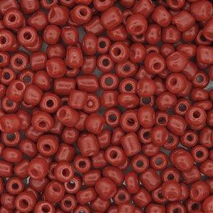 Miçanga Vermelho Porcelana 50g