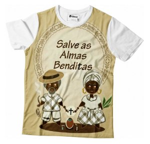 Camisa Full Salve as Almas Benditas