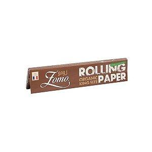 Seda Zomo Rolling Paper Organic King Size Com 33 folhas