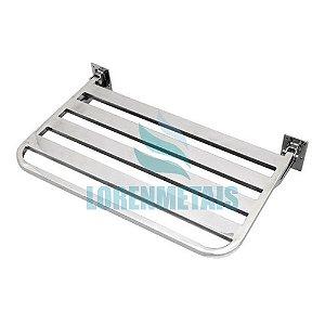 Banco Articulado Inox 304 PNE Luxo 45X70  - 12203