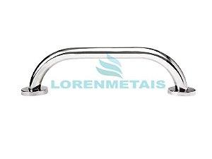 Barra De Apoio Para Banheiro Em Inox Reta 90 Cm Conforme A Norma NBR9050 - 1006