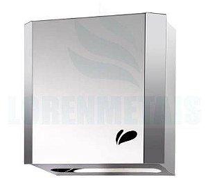 Dispenser de Papel Toalha Aço Inox Interfolhas com trava - 17001