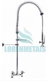 Esguicho De Pré-Lavagem Misturador De mesa 150 mm Para Cozinha Industrial - 2012