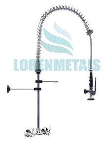 Esguicho De Pré-Lavagem Misturador De Parede 150 mm Para Cozinha Industrial - 2013